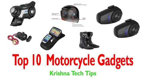 Top 10 Accessories by Top 10 Motorcycle Accessories Motorcycle Gadgets