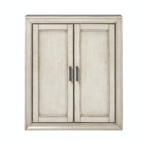 Home Decorators Collection Hazelton 25 In W X 28 In H X Bathroom Storage Wall Cabinet