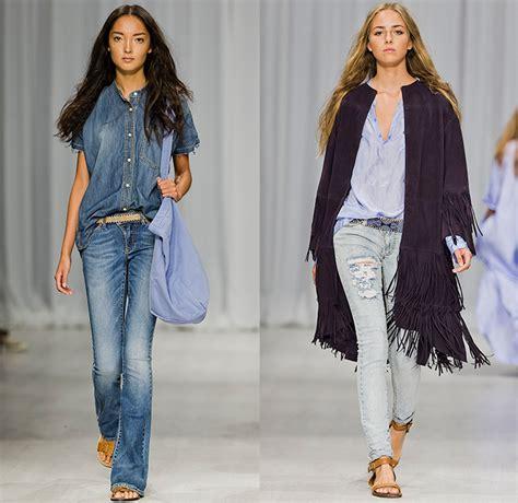Overall Maxi Longdress Wanita Jumpsuit Rok Dress Denim Xl Jumbo hunkydory 2015 summer womens runway catwalk looks fashion week stockholm sweden blues