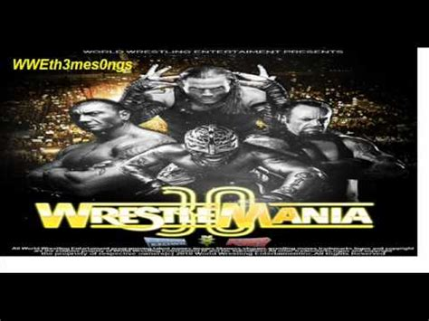 theme song wrestlemania 30 wwe wrestlemania 30 theme song fake youtube