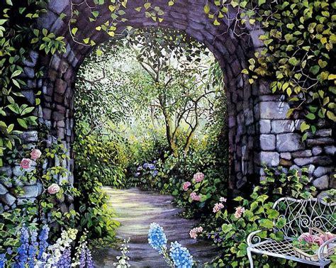 imagenes de paisajes jardines pintura moderna y fotograf 237 a art 237 stica jardines cuadros