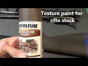 Textured Bumper Spray Paint - textured paint rifle stock remodel youtube