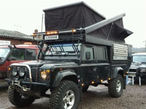 land rover expedition vehicle landrover defender 130 expedition vehicle land rover