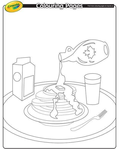 pancake coloring pages pancakes food coloring pages pancakes best free coloring