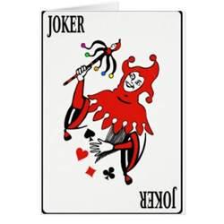 card deck joker zazzle