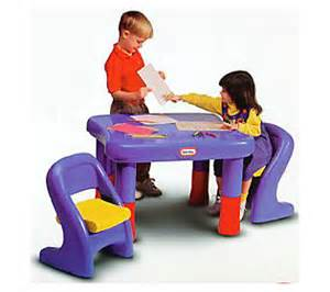Little Tikes Table And Chair Set Little Tikes 7749 Adjustable Table Amp Chairs Set Qvc Com