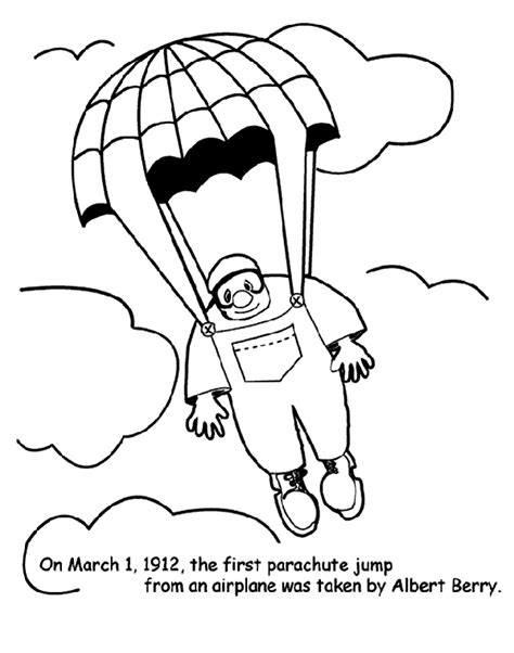 march coloring pages crayola first parachute jump coloring page crayola com