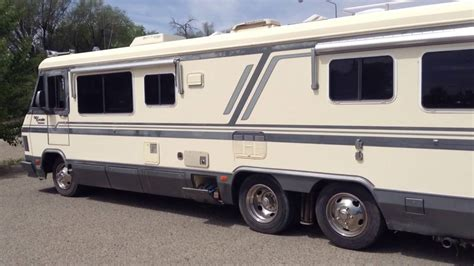 chevy motorhome rv motorhome p34 chevrolet with 454 engine quick view