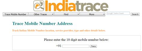 Mobile Phone Number Tracker With Name Top 10 Best Websites To Track Mobile Number Trace Mobile Number With Owner Name And