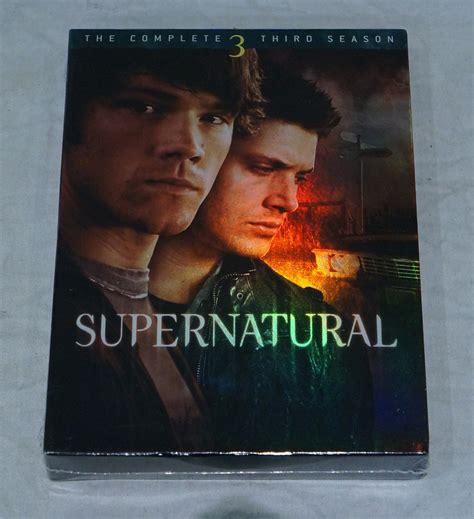 Dvd Supernatural Season 3 supernatural the complete third season season 3 dvd new 883929019755 ebay