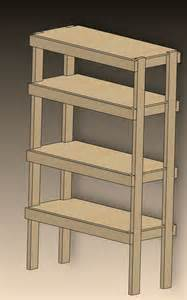 Building Wood Shelving Units by Diy Storage Shelf Diy Pinterest