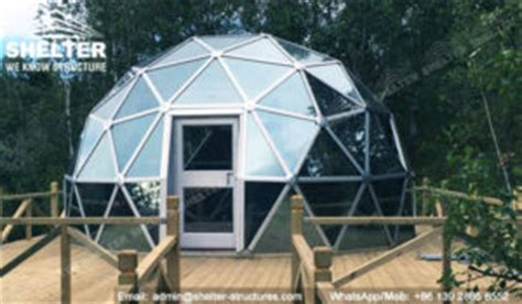 geodesic dome tent dia.4m 6m 8m glass dome lounge dome