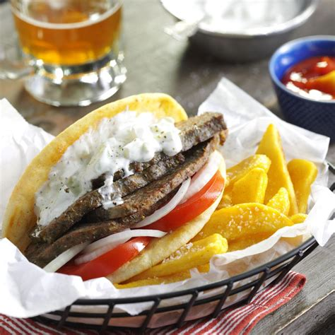 favorite loaf gyros recipe taste of home