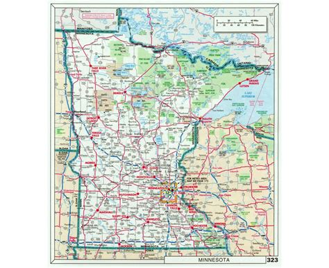 where is minnesota on the map of usa maps of minnesota state collection of detailed maps of