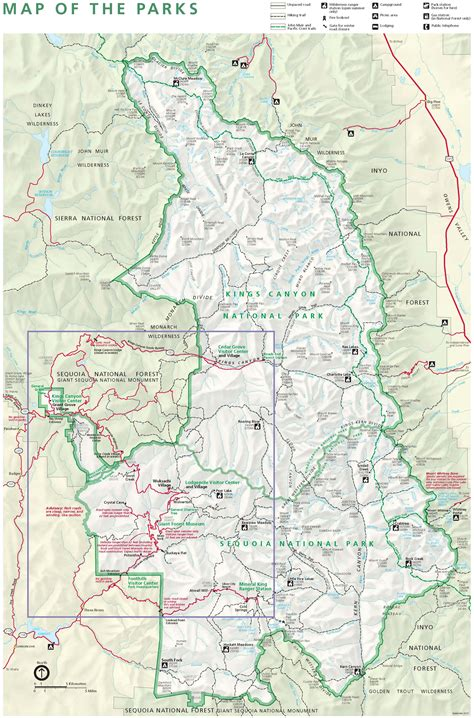 sequoia national park map sep 1 2013 fatality and serious injuries due to motor vehicle in