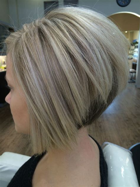 sharp hair ut for long hair cool blonde color and sharp inverted bob i created my
