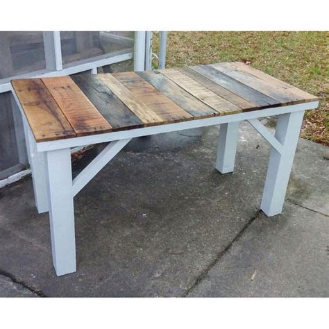 reclaimed wood kitchen table rustic reclaimed wood kitchen table by lostdogwoodworks