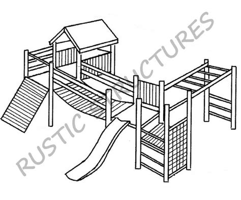 rustic structures jungle gym construction durban