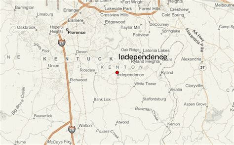 independence kentucky map independence kentucky location guide