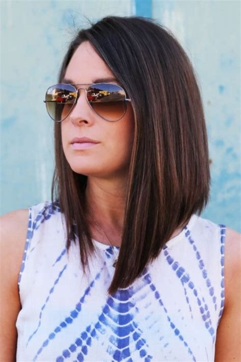how does the long bob look angled bob haircut 40 looks for 2016 stylishwife