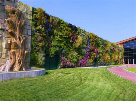 giardini verticali roma il giardino verticale pi 249 grande d italia 232 a
