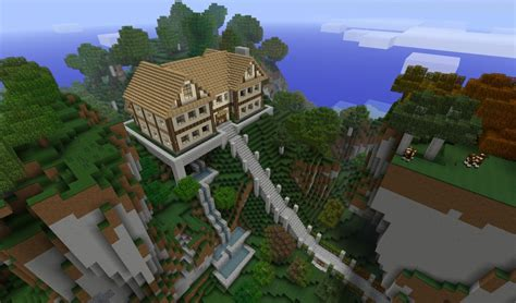 Best Simpatico Homes Ideas A House On A Hill Remake Read Update Log Minecraft Project