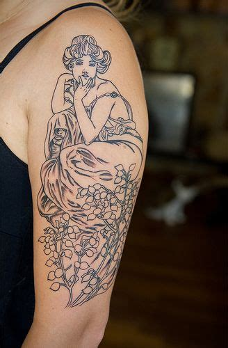 alphonse mucha tattoo 1000 ideas about alphonse mucha on