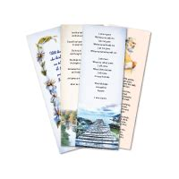 printable election bookmarks our memoriam card designs