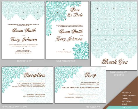 wedding invitation layout templates free wedding invitation templates the best wedding