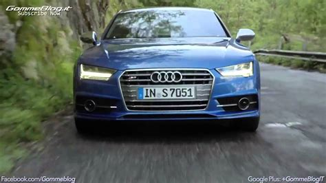 audi s7 sound 2014 new audi s7 sportback test drive sound