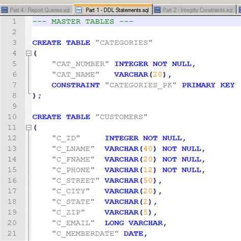 Oracle Create Table Primary Key by It2051229 Creating Oracle Tables