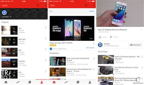 youtube layout update did a redesigned youtube app interface just appear on