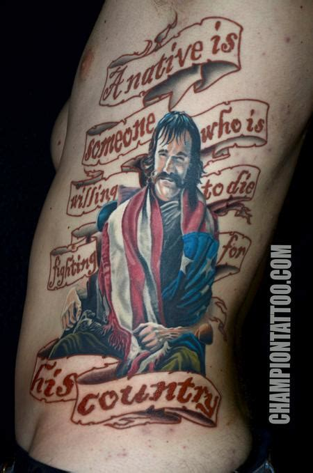 the butcher tattoo bill the butcher by chion grubbs tattoonow