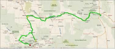map of montrose colorado roving reports by doug p 2012 19 montrose colorado