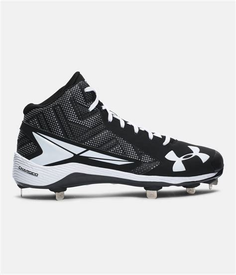 under armoir cleats men s ua yard mid st baseball cleats under armour us