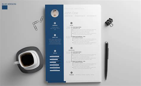 50 Best Resume Templates For Word That Look Like Photoshop Designs Free Microsoft Word Templates