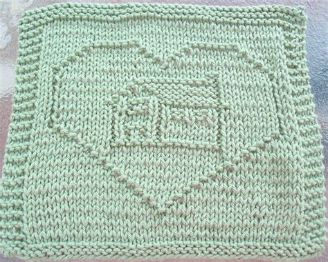 house dishcloth pattern digknitty designs house in a heart knit dishcloth pattern