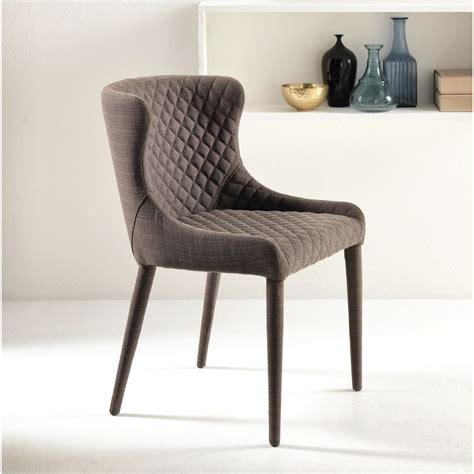 sedie stones sedia stones afrodite tessuto design schienale medio