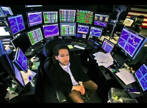 hedge fund manager, adam sender's 20 monitor set up | all