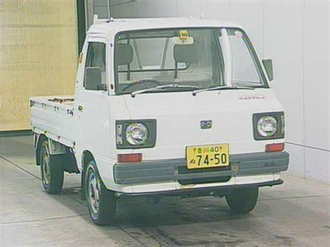 subaru sambar truck 1987 subaru sambar truck kt2 4wd for sale japanese used