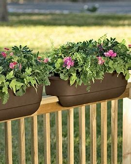 25 best ideas about railing planters on