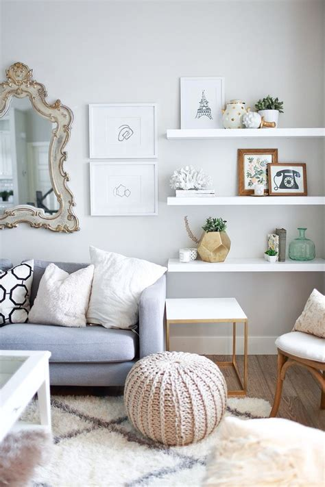 shelf decorations living room 10 ways to work with floating white shelves