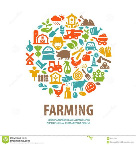 farm layout design software free download farm vector logo design template horticulture or stock