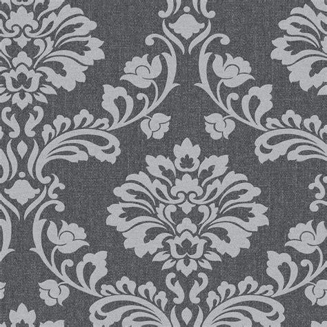 grey wallpaper wilkinsons superfresco wallpaper aurora black grey at wilko com