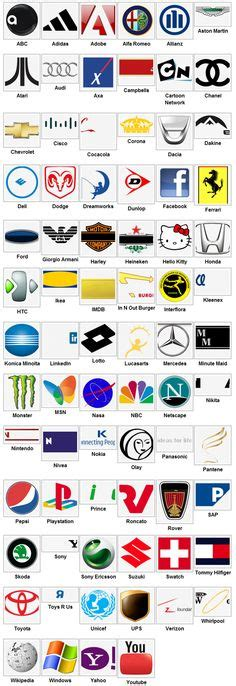 Auto Logo Quiz Online Spielen by Logo Quiz Answers Level 9 Logos Pinterest