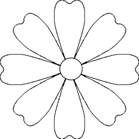 petal template flower 8 petal template by baj a flower that could