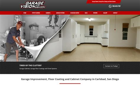 garage website garage flooring cabinet website carlsbad ca web