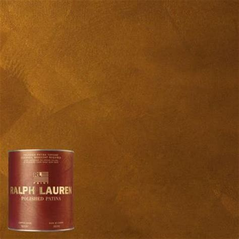 ralph 1 qt gold copper polished patina interior paint topcoat pp104t 04 the home