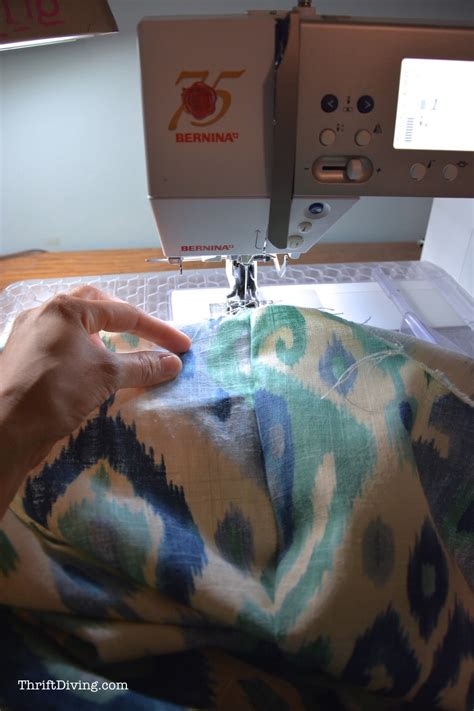 how do you sew curtains how to sew cute lined diy curtains thrift diving blog