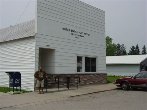 Ripon Post Office by Amberg Wisconsin Post Office Post Office Freak